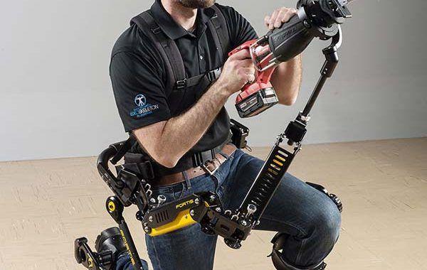 FORTIS el exoesqueleto para el manejo de herramientas pesadas
