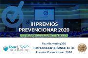 Fourmarketing360 Patrocinador BRONCE de los Premios Prevencionar 2020