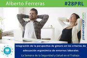 Integración de la perspectiva de género en los entornos laborales #28PRL #webinar