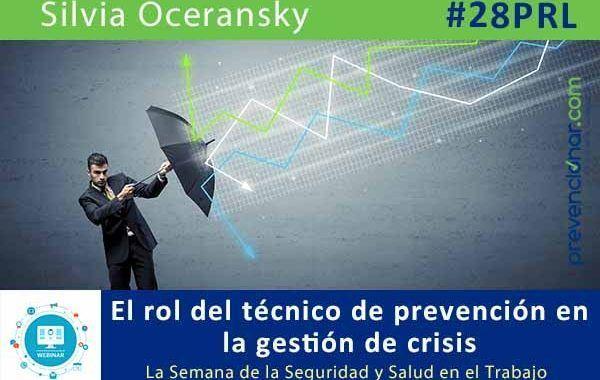 El rol del técnico de prevención en la gestión de crisis #28PRL #webinar