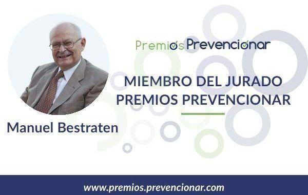 Manuel Bestratén Belloví miembro del Jurado de los Premios Prevencionar 2020