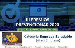 Premios Prevencionar: ¿Te gustaría ser la Empresa Saludable del 2020?