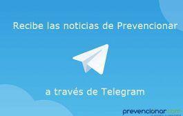 +1.200 profesionales ya reciben al instante las noticias de Prevencionar por Telegram