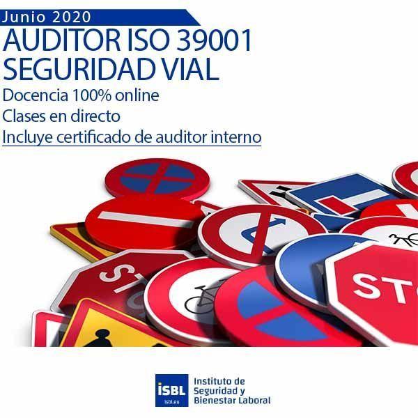 Curso Auditor Líder ISO 39001 - Inicio 29 Junio