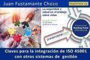 Claves para la integración de ISO 45001 con otros sistemas de gestión #webinar
