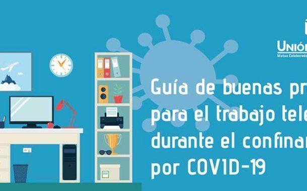 Guía de buenas prácticas para el trabajo telemático durante el confinamiento por Covid-19