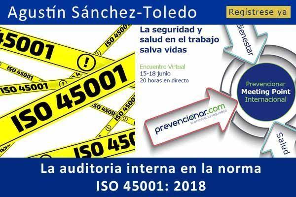 La auditoría interna en la norma ISO 45001 #webinar