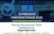 Premios Prevencionar 2020: Categoría Seguridad Vial- Presenta tu candidatura