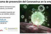 Programa de prevención del coronavirus en la empresa