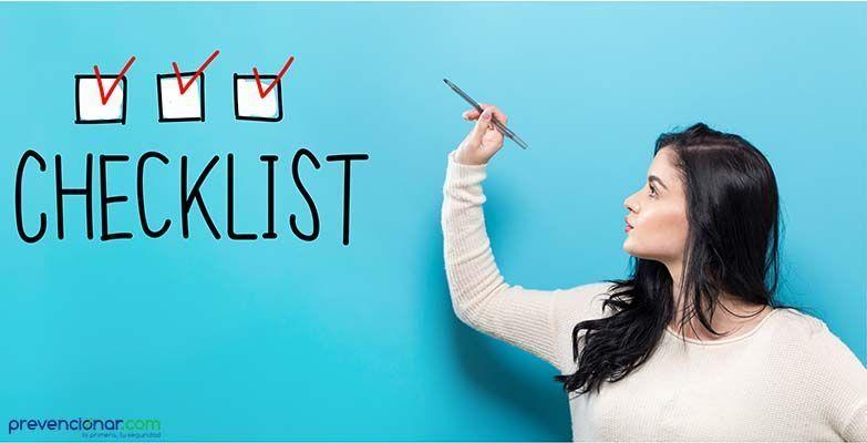 PrevenConsejo: Elaboración de un checklist en prevención de riesgos laborales