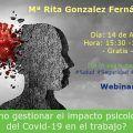 ¿Cómo gestionar el impacto psicológico del Covid-19 en el trabajo?