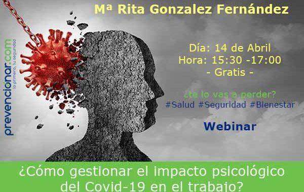 Video explicativo sobre la gestión psicosocial del COVID-19 en el trabajo