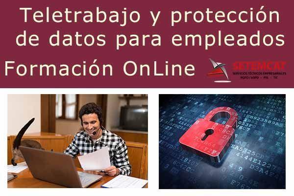 Formación OnLine: teletrabajo y protección de datos