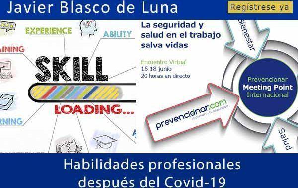 Habilidades profesionales después del COVID-19 #webinar