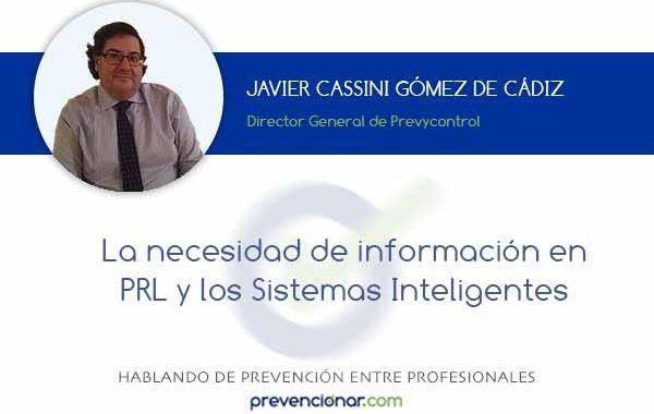 La necesidad de información en PRL y los Sistemas Inteligentes