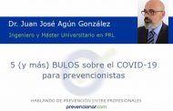 5 (y más) BULOS sobre el COVID-19 para prevencionistas