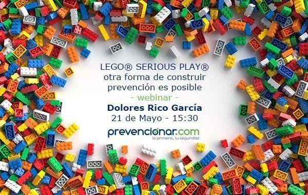LEGO® SERIOUS PLAY® otra forma de construir prevención es posible #ÚltimasPlazas +800 inscritos
