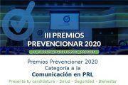Premios Prevencionar 2020: Categoría Comunicación en PRL- Presenta tu candidatura