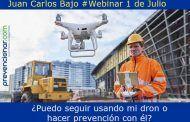 ¿Puedo seguir usando mi dron o hacer prevención con él? #webinar