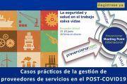 Casos prácticos de la gestión de proveedores de servicios en el POST-COVID19 #webinar