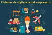 El deber de vigilancia del empresario principal