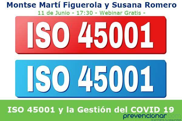 ISO 45001 y la Gestión del COVID 19
