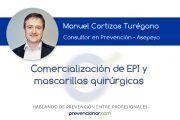 Comercialización de EPI y mascarillas quirúrgicas