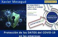 Protección de los DATOS del COVID-19 en las empresas#webinar