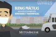 Video de consejos para evitar el contagio del COVID-19 entre repartidores y transportistas