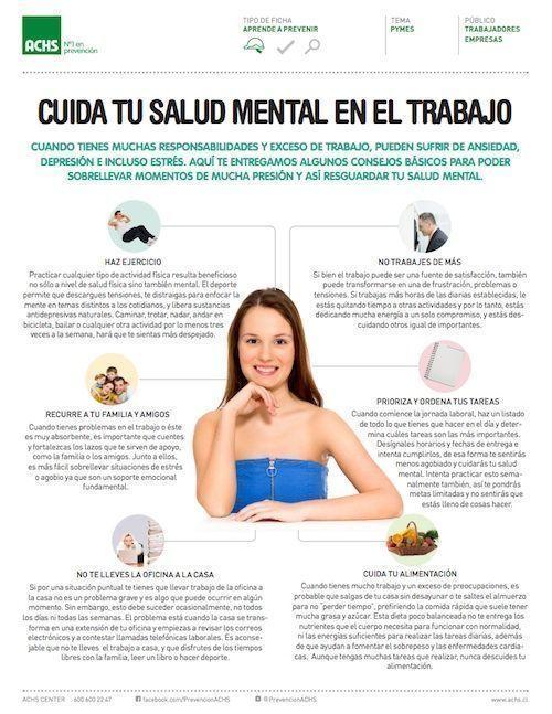 consejos salud mental achs