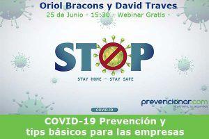 COVID-19. Prevención y tips básicos para las empresas