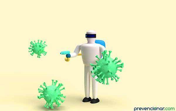 ¿Qué se debe hacer con la ropa de trabajo contaminada con agentes biológicos?