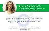 ¿Son eficaces frente al COVID-19 los equipos generadores de ozono?