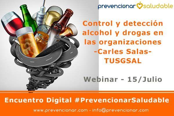 Control y detección alcohol y drogas en las organizaciones