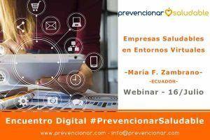 Empresas Saludables en Entornos Virtuales