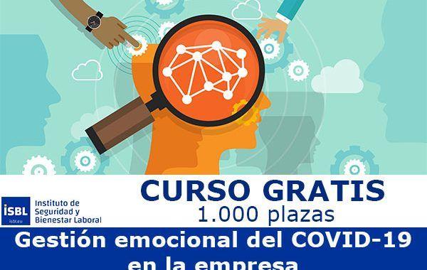 1.000 plazas gratuitas para formarse en la «Gestión Emocional del COVID-19»