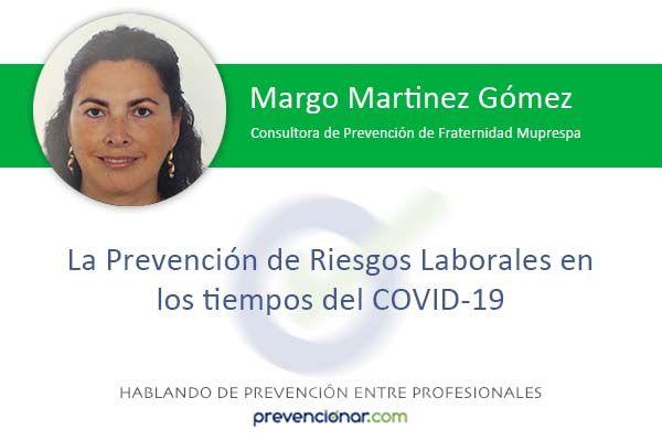 La Prevención de Riesgos Laborales en los tiempos del COVID-19