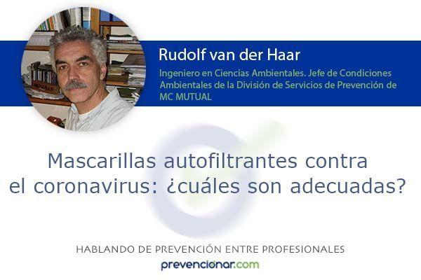 Mascarillas autofiltrantes contra el coronavirus: ¿cuáles son adecuadas?