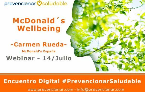 McDonald´s Wellbeing #webinar