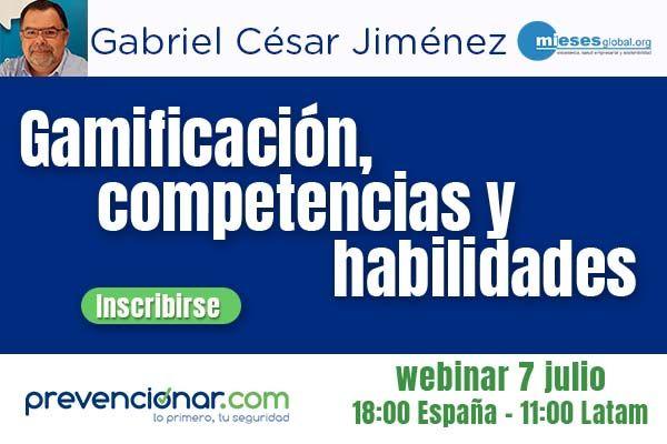 Gamificación, competencias y habilidades #webinar
