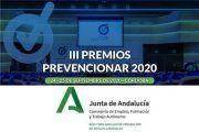 El Instituto Andaluz de Prevención de Riegos Laborales se suma a los Premios Prevencionar 2020