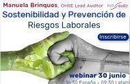 Sostenibilidad y Prevención de Riesgos Laborales #webinar
