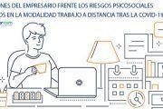 Actuaciones del empresario frente a los riesgos psicosociales generados por el trabajo a distancia