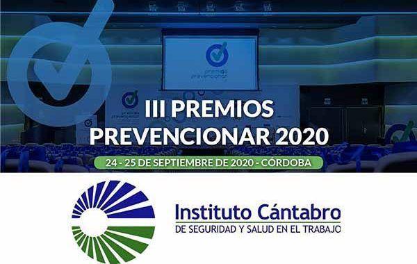 El Instituto Cántabro de Seguridad y Salud en el Trabajo (ICASST) se suma a los Premios Prevencionar 2020