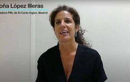 Begoña López de El Corte Inglés opina de su paso por el Master de Empresas Saludables