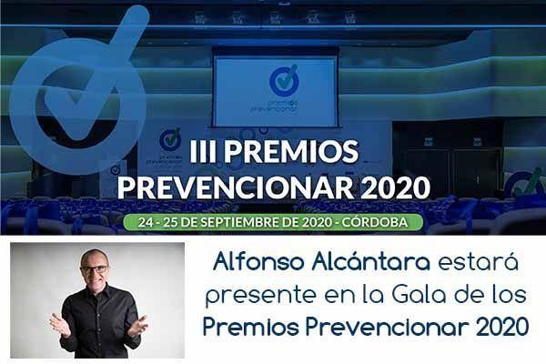 Alfonso Alcántara estará presente en la Gala de los Premios Pr