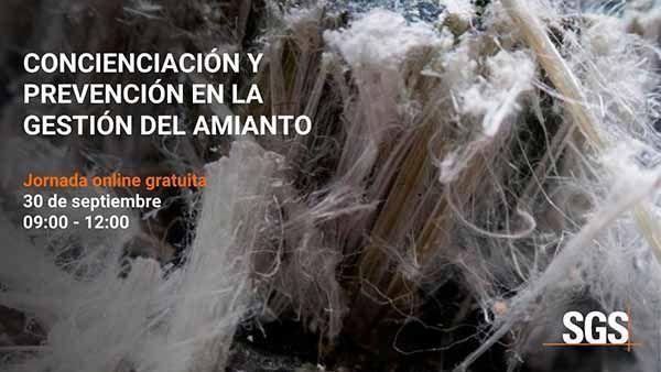 Jornada Técnica OnLine: concienciación y prevención en la gestión del amianto