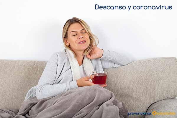 Descanso y coronavirus