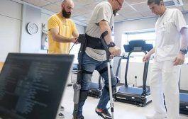 Asepeyo participa en la creación de un exoesqueleto robótico que permite caminar a lesionados medulares