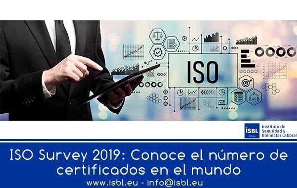 ISO Survey 2019: Conoce el número de certificados en el mundo